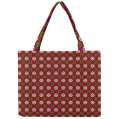 Christmas Paper Wrapping Pattern Mini Tote Bag