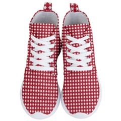 Christmas Paper Wrapping Paper Women s Lightweight High Top Sneakers