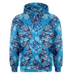 Christmas Background Pattern Men s Pullover Hoodie