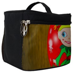 Christmas Wreath Ball Decoration Make Up Travel Bag (big)