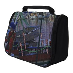 Christmas Boats In Harbor Full Print Travel Pouch (small)