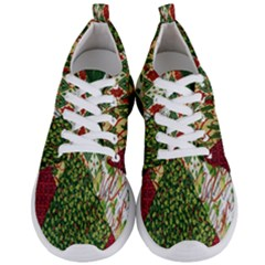 Christmas Quilt Background Men s Lightweight Sports Shoes