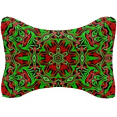 Christmas Kaleidoscope Pattern Seat Head Rest Cushion