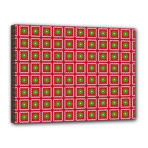 Christmas Paper Wrapping Canvas 16  X 12  (stretched)