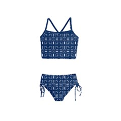 Pattern Background Abstract Design Girls  Tankini Swimsuit