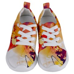 Paint Splash Paint Splatter Design Kids  Lightweight Sports Shoes