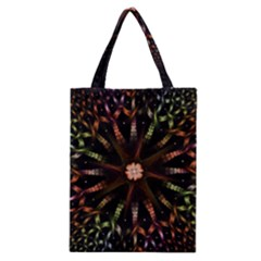 Fractal Colorful Pattern Texture Classic Tote Bag