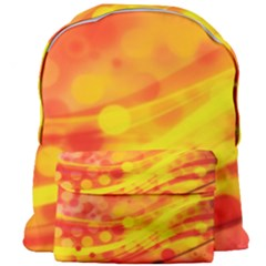 Abstract Background Design Giant Full Print Backpack
