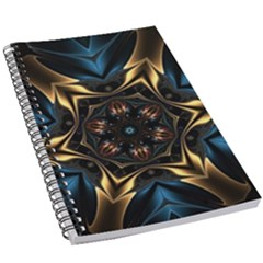 Pattern Texture Copper Teal Design 5 5  X 8 5  Notebook New by Wegoenart