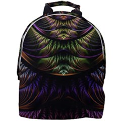 Fractal Colorful Pattern Fantasy Mini Full Print Backpack