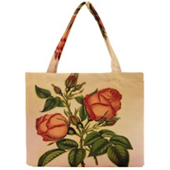 Vintage Flowers Floral Vintage Mini Tote Bag