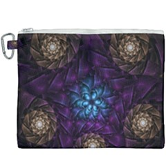 Geometry Fractal Colorful Geometric Canvas Cosmetic Bag (xxxl)