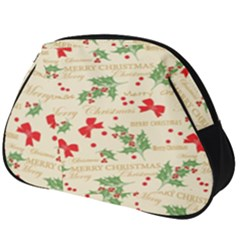 Christmas Paper Scrapbooking Full Print Accessory Pouch (big)