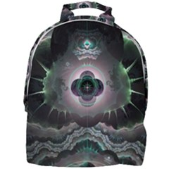 Fractal Pattern Texture Design Mini Full Print Backpack