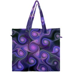 Abstract Pattern Fractal Wallpaper Canvas Travel Bag