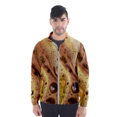 Abstract Art Modern Detail Macro Windbreaker (men)