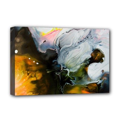 Art Abstract Painting Abstract Deluxe Canvas 18  X 12  (stretched)