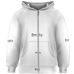 Abstract #2   V Invert Kids Zipper Hoodie Without Drawstring