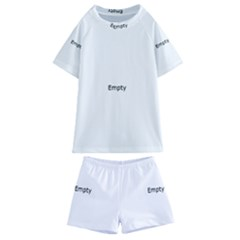 Gum Drops In The Snow Kids  Swim Tee And Shorts Set