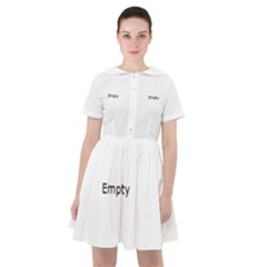Gum Drops In The Snow Sailor Dress
