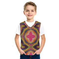 Kaleidoscope Art Pattern Ornament Kids  Sportswear