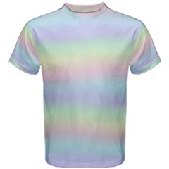 Holographic Foil Pastels Wallpaper Men s Cotton Tee