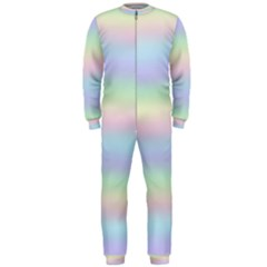 Holographic Foil Pastels Wallpaper Onepiece Jumpsuit (men)