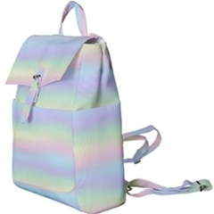 Holographic Foil Pastels Wallpaper Buckle Everyday Backpack