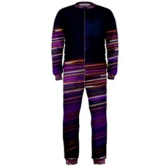 Abstract Cosmos Space Particle Onepiece Jumpsuit (men)