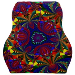 Kaleidoscope Pattern Ornament Car Seat Velour Cushion