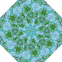Forest Kaleidoscope Pattern Straight Umbrellas by Wegoenart