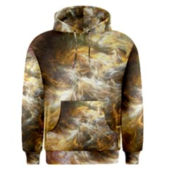 Fractal Background Color Colorful Men s Pullover Hoodie