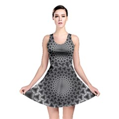 Pattern Abstract Graphic District Reversible Skater Dress