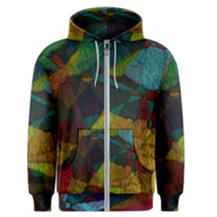 Background Color Template Abstract Men s Zipper Hoodie