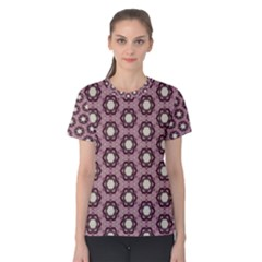 Background Pattern Structure Women s Cotton Tee