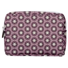 Background Pattern Structure Make Up Pouch (medium)