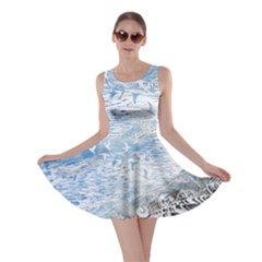 Coast Beach Shell Conch Water Skater Dress