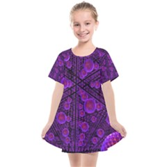 Spheres Combs Structure Regulation Kids  Smock Dress