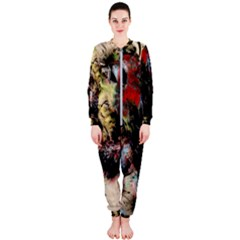 Ara Bird Parrot Animal Art Onepiece Jumpsuit (ladies)