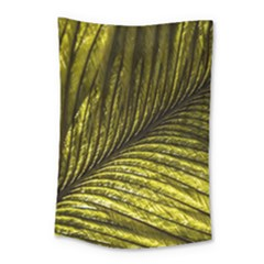 Feather Macro Bird Plumage Nature Small Tapestry