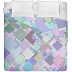 Colorful Background Multicolored Duvet Cover Double Side (king Size)