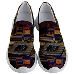 Processor Cpu Board Circuits Women s Lightweight Slip Ons