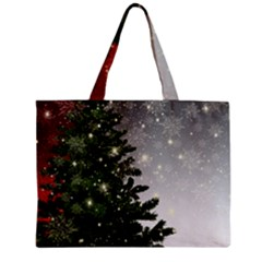 Christmas Fir Tree Mockup Star Mini Tote Bag