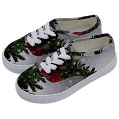Christmas Fir Tree Mockup Star Kids  Classic Low Top Sneakers by Wegoenart