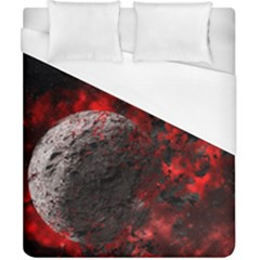 Planet Explode Space Universe Duvet Cover (california King Size)