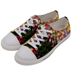 Christmas Tree Fir Tree Star Women s Low Top Canvas Sneakers by Wegoenart