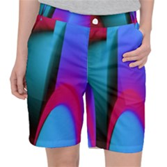 Abstract Art Abstract Background Pocket Shorts