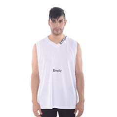 Cheerful Ethnic Men s Basketball Tank Top