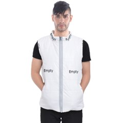 Abstract Pattern Men s Puffer Vest
