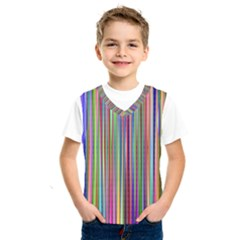 Striped Stripes Abstract Geometric Kids  Sportswear